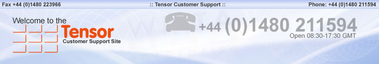 Tensor Customer Support